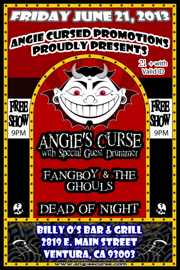 Angie's Curse 1st Show of the Year!